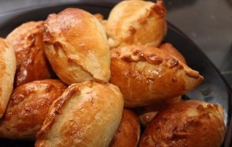 Печеные пирожки с капустой в духовке фото рецепты