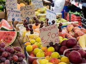 Цены в Италии на еду в 2017 году