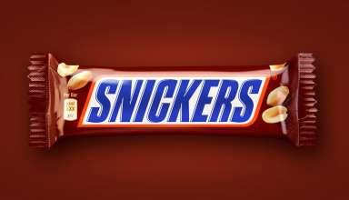 Сколько калорий в Сникерсе
