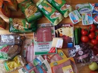Цены на еду в Германии 2017