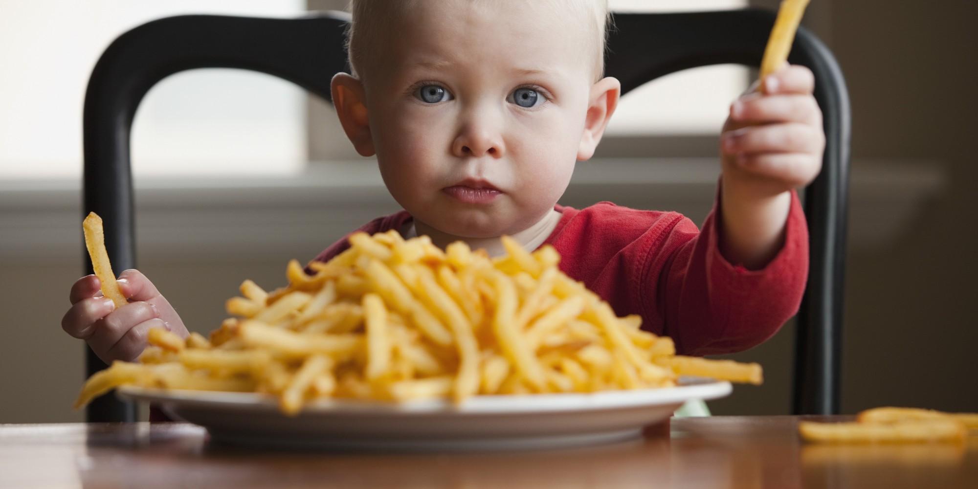вред фастфуда для детей