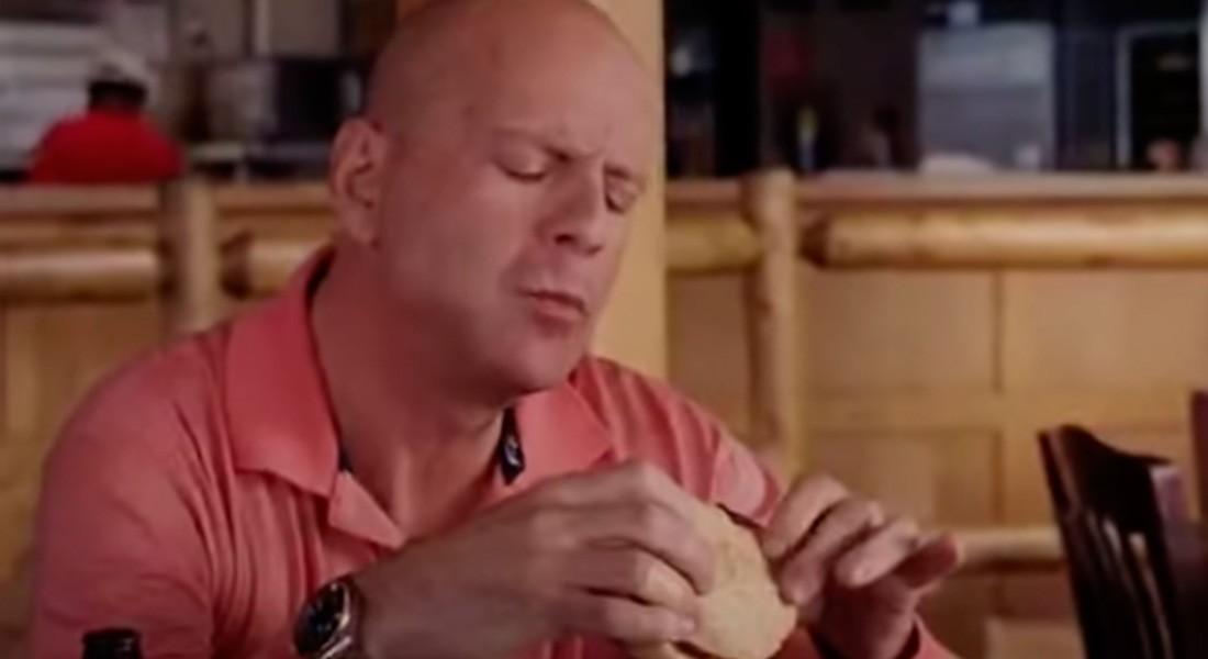 Нация фастфуда кадр из фильма Брюс Уиллис