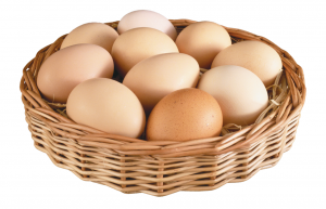 Сколько калорий в яичном белке1