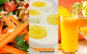 Яичная диета на 1-2-4 недели