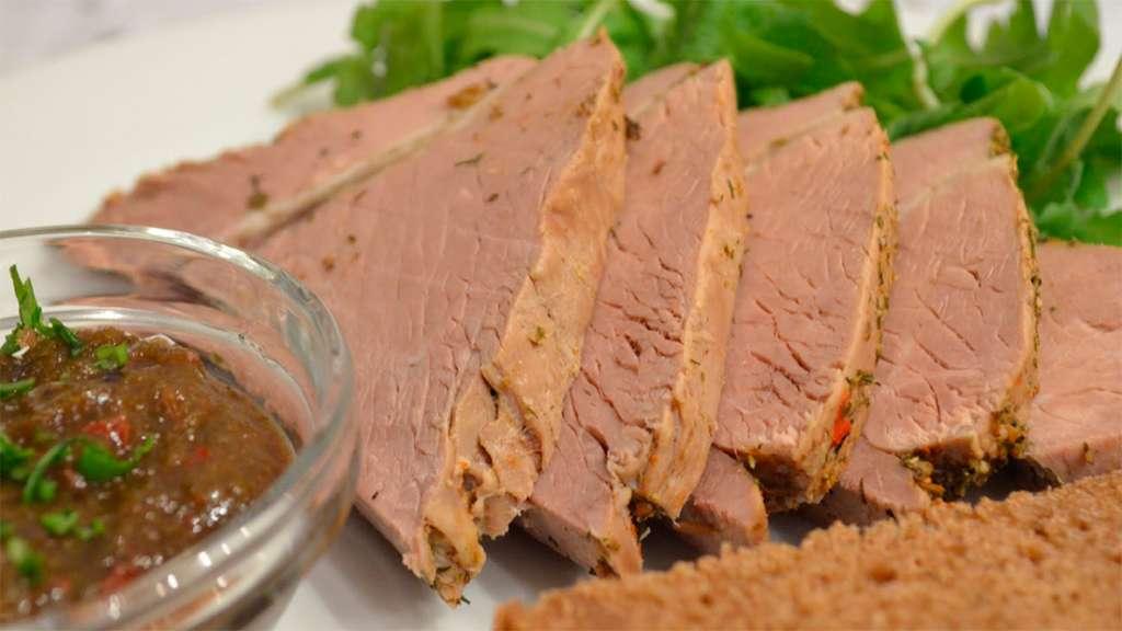 Сколько калорий в отварной говядине