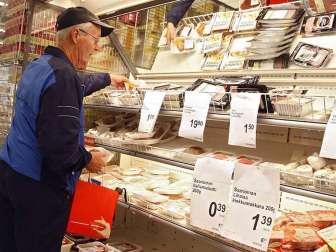 Цены на еду в Финляндии 2017
