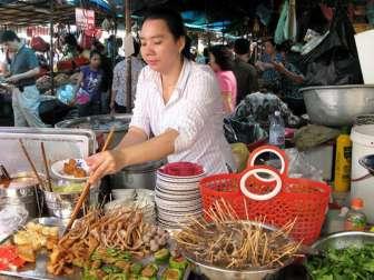 Цены в Камбодже на еду 2017