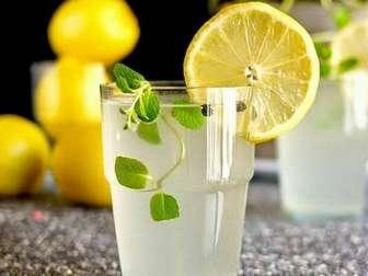 Польза воды с лимоном натощак