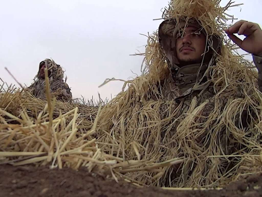 Охота на гуся в Аркалыке в Казахстане 2018