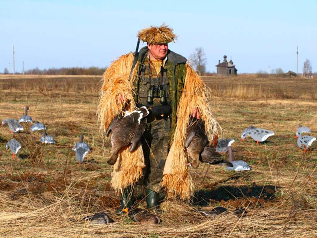 Охота на гуся в Астрахани и Астраханской области 2018