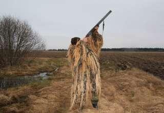 Охота на гуся в Липецкой области 2018