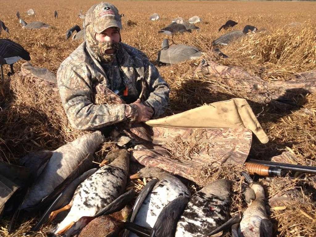 Охота на гуся в Подмосковье 2018